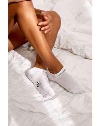 """Calvin Klein Sneaker-Socken """"Coolmax Gripper"""" im Set - Weiß"""