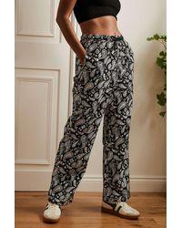 Santa Cruz Paisley Coombe Trousers - Black