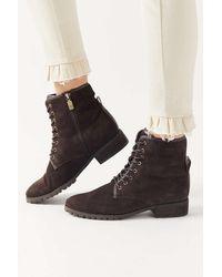 Blondo Prima Lace-up Boot - Black
