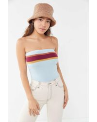76bc96bba38ae Mouille' Chloe Frill One Piece Swimsuit in Gray - Lyst