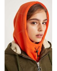 Urban Outfitters - Hooded Fleece Snood - Womens All - Lyst