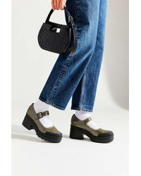 Urban Outfitters Uo Sawyer Croc Marjane - Blue