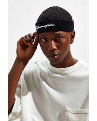 Urban Outfitters x Champion Champion Terry Headband - Black