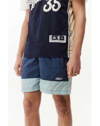 adidas Colourblock Woven Shorts - Blue