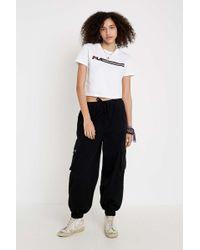 0bd81ba01a Crop Logo T-shirt - Womens Xs - White