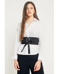 Urban Outfitters - Olivia Satin Corset Belt - Lyst