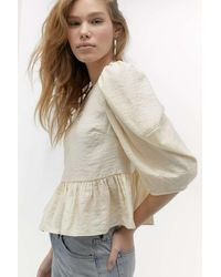 Urban Outfitters Uo Sophie Blouse - White