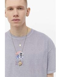 Urban Outfitters Uo Waves Overdyed Tee - Multicolour