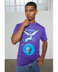 The Hundreds Purple Orb T-shirt - Red