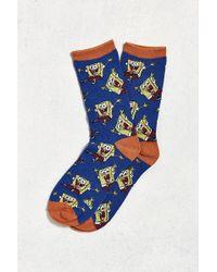 Urban Outfitters | Spongebob Sock | Lyst