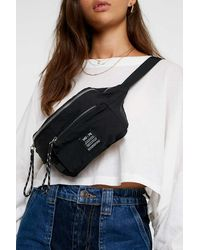Urban Outfitters Uo Voyage Shell Bum Bag - Black