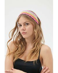 Urban Outfitters Shatzi Crochet Headband - Multicolor