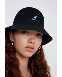 edf3948c3908a Kangol Faux Fur Casual Bucket Hat In Leopard Print in Brown - Lyst
