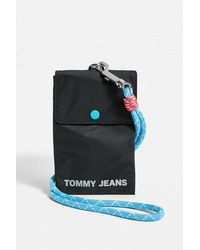 Tommy Hilfiger Nautical Phone Pouch Crossbody - Black