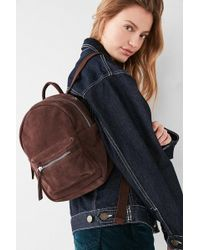 Urban Outfitters - Mini Classic Suede Backpack - Lyst