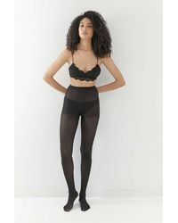 Urban Outfitters 40 Denier Tights - Black