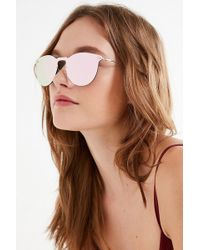 Urban Outfitters - Radical Round Shield Sunglasses - Lyst