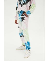 Electric and Rose Vendimia Tie-dye Jogger Pant - Blue