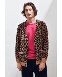 Lazy Oaf - Hairy Leopard Cardigan - Lyst