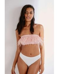 Out From Under - Carrie Maribou Bandeau Bralette - Womens M - Lyst
