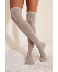 Out From Under - Lightweight Over-the-knee Sock - Lyst