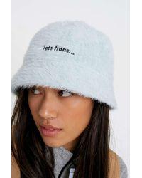 iets frans Luffy Bucket Hat - Blue