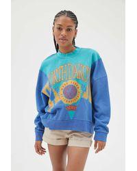 Urban Outfitters North Dakota Spliced Sweatshirt - Blue