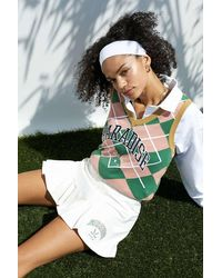 Fila Uo Exclusive White Pleated Golf Skirt