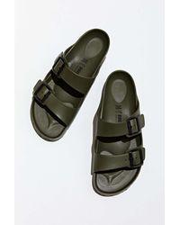 Birkenstock Arizona Eva Double Strap Sandals - Green