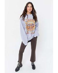 Urban Outfitters Sublime Sun Oversized Crew Neck Sweatshirt - Multicolor