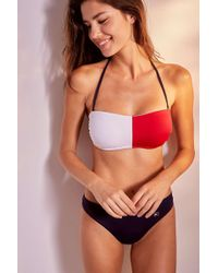 c466705c7f88b Tommy Hilfiger - Flag Bandeau Bikini Top - Womens S - Lyst