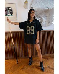 Urban Outfitters Uo Longview Dad Tee Mini Dress - Black