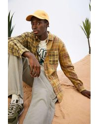 Urban Outfitters Uo Two-tone Check Shirt - Multicolour