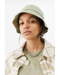 Urban Outfitters Uo Oversized Canvas Bucket Hat - Green