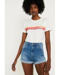 Wrangler - + Uo Pinup Denim Shorts - Lyst