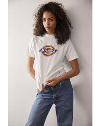 Dickies White Horseshoe Logo T-shirt