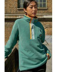 Columbia Helvetia Pop Fleece Sweatshirt - Green