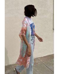 Urban Outfitters Rio Tie-dye Ruana - Multicolour