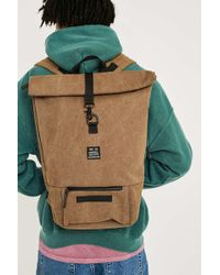Urban Outfitters - Uo Canvas Rolltop Tobacco Backpack - Lyst