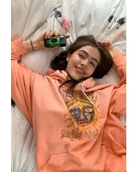 Urban Outfitters Sublime Sun Bleached Hoodie Sweatshirt - Multicolour
