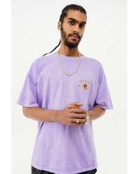 BDG Purple Crest Tee