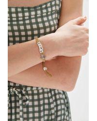 Venessa Arizaga - Uo Exclusive Bull$ T Bracelet - Lyst