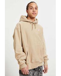 Champion Reverse Weave Hoodie Sweatshirt - Brown