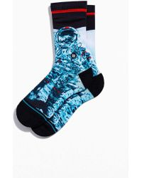 Stance Mankind Crew Sock - Blue