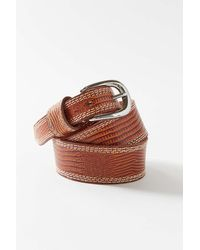 Urban Outfitters Pop Stitch Leather Belt - Multicolor