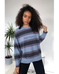 iets frans... Striped Sweater - Blue
