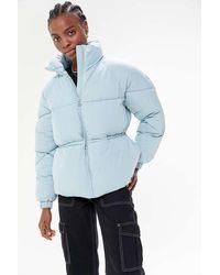 on sale deba5 c8419 Uo Greta Puffer Jacket - Blue