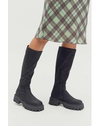 Urban Outfitters Uo Kelly Tall Boot - Black