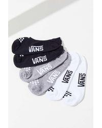 Vans Canoodle No-show Liner Sock 3-pack - Multicolour