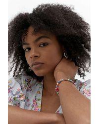 Urban Outfitters Beaded Tassel Bracelet - Multicolour